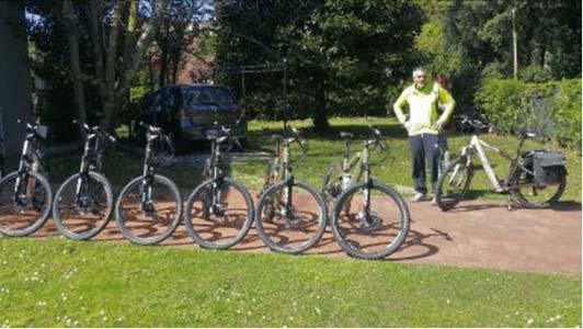 versilia bici petit hotel ebike