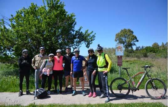 versilia bici petit hotel itinerario gruppo tour