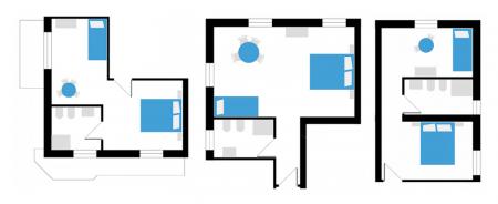 Petit Hotel mini-suite-plan Lido di Camaiore