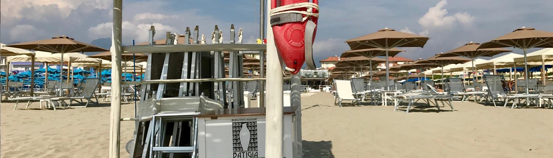 Petit Hotel e le spiagge attrezzate in Versilia