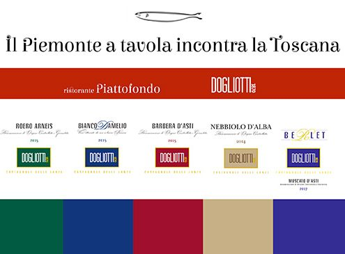 il Piemonte a tavola incontra la Toscana
