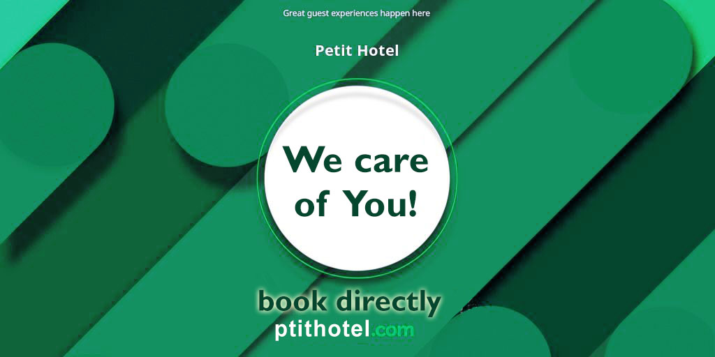 petit hotel book directly