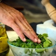Pesto Manarola course
