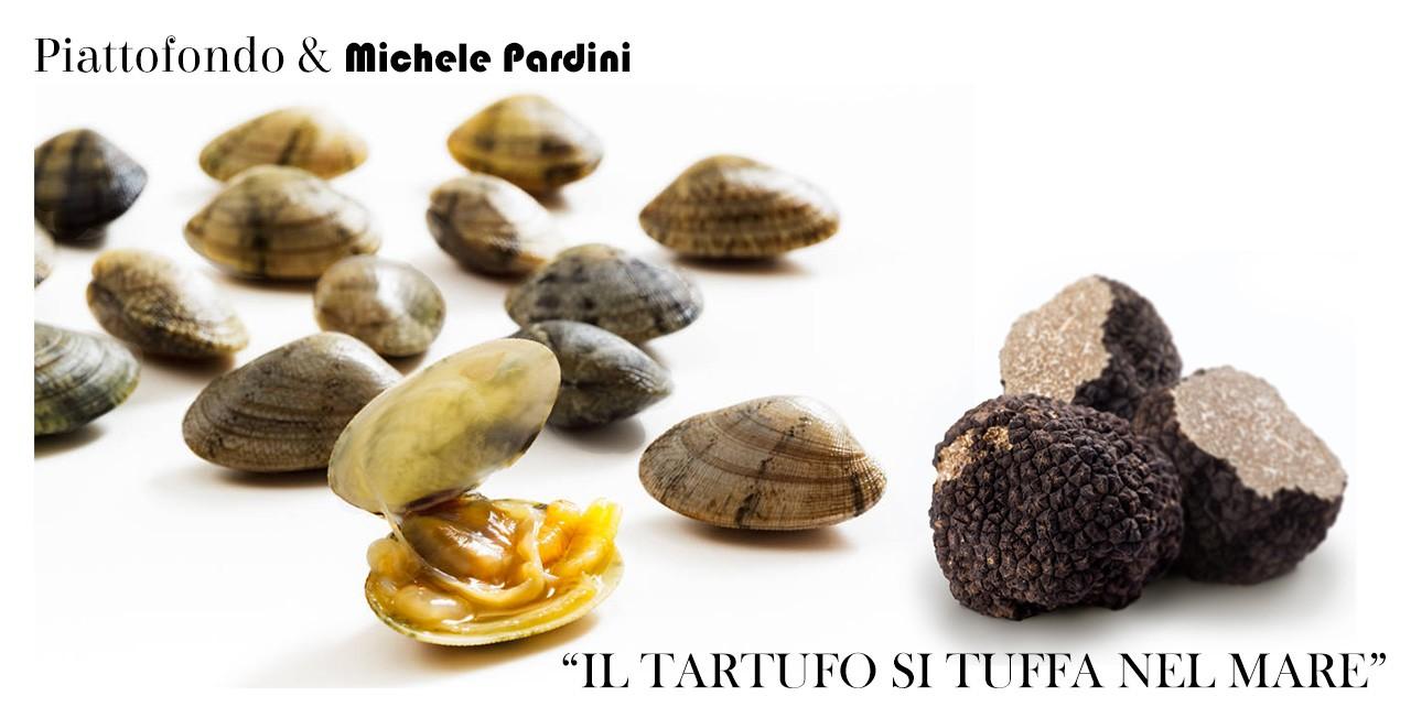 il tartufo si tuffa nel mare