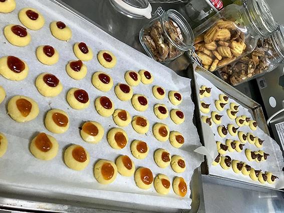 biscotti fatti in casa al Petit Hotel