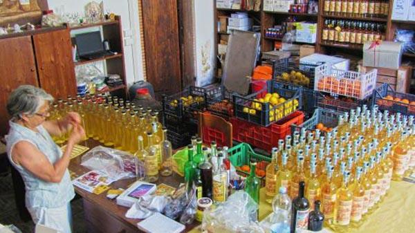 premiata fabbrica di liquori Borsi