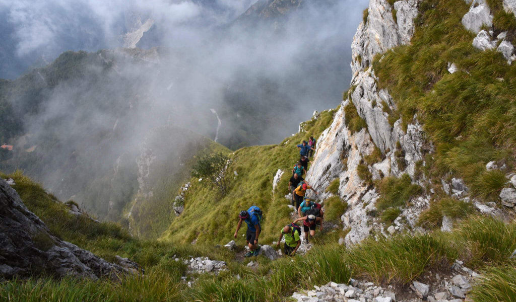 camaiore climbing trekking festival